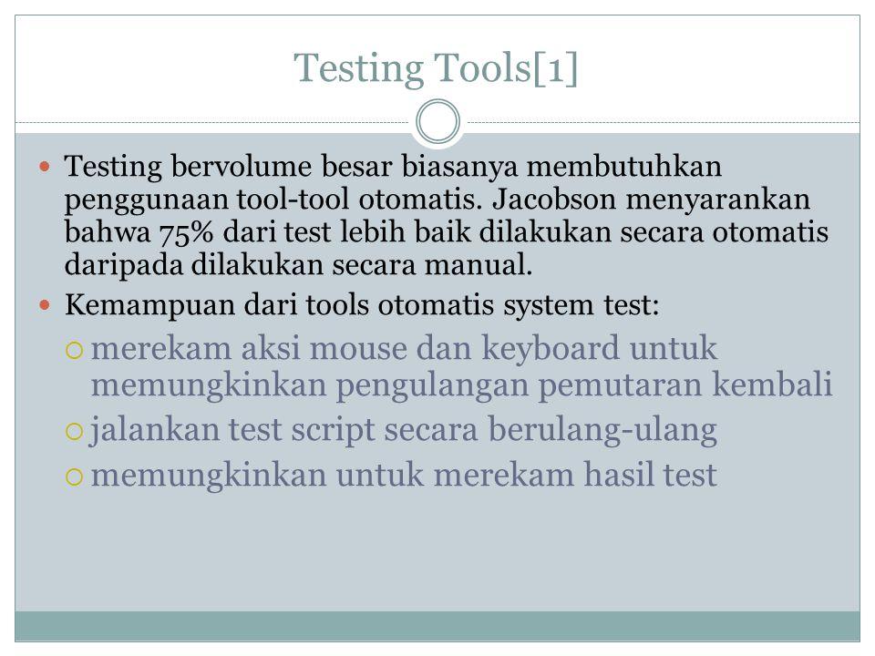 Testing Tools[1]